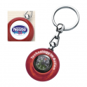 Compass Round Key rings
