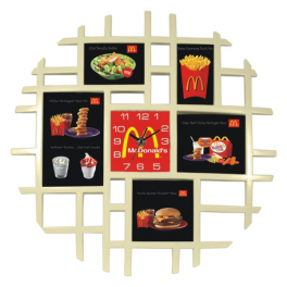 MC31357 Clock with frame