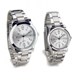22131 Ladies and gents watch set