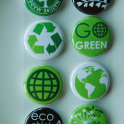 02 - Go Green - badge button